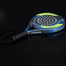 Kawasaki Padel Tennis Carbon Fiber Soft EVA Face Tennis Paddle Racquet Racket with Padle Bag Cover and Free Gift Power 600