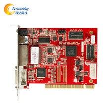 Amoonsky dbs-hvt11in remetente levou tira conduzida controlador de vídeo hd full color display led cartão de controle