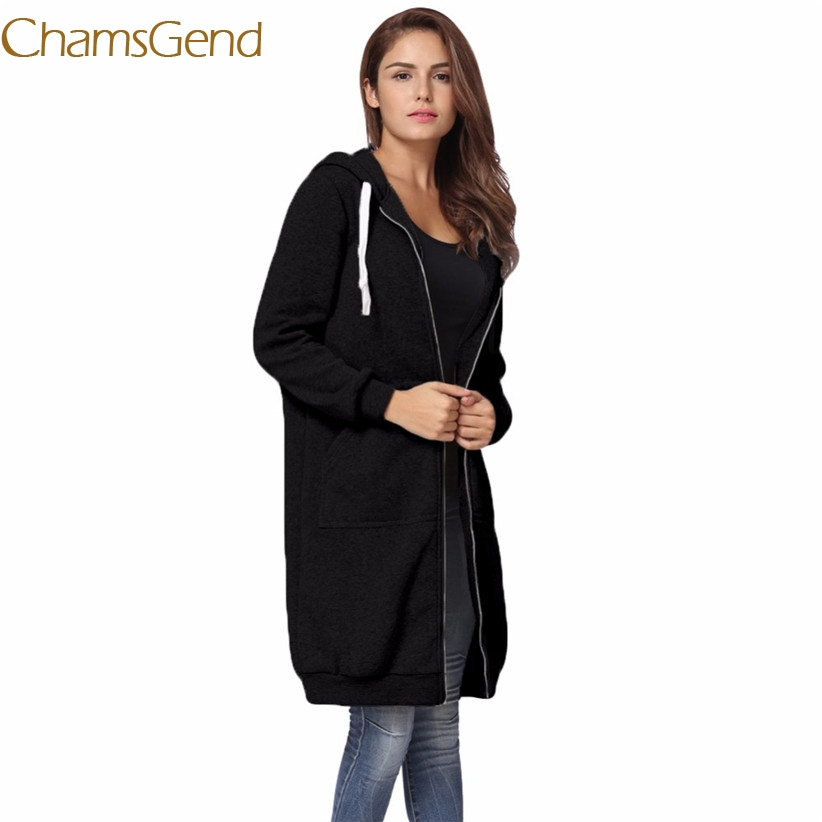 Chamsgend Newly Design Women Winter Long Hoodie Coat Plus Size Zipper Parkas Female Streetwear 70920 economic newly design 2 4mx1 2mx3cm cheap gymnastic mats