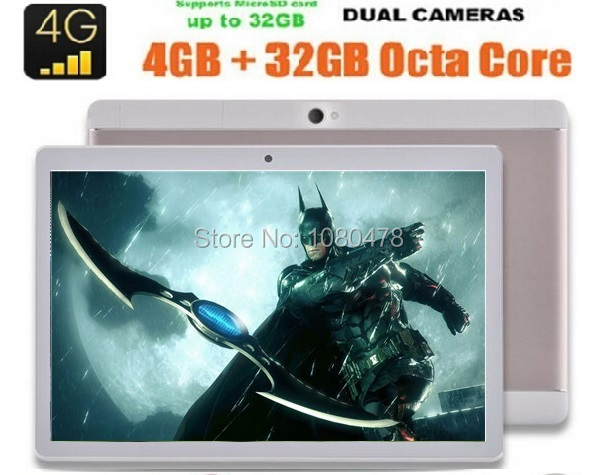 10 inch Android 6 0 Octa Core Tablet 4G FDD LTE 4GB RAM 64GB ROM 1920