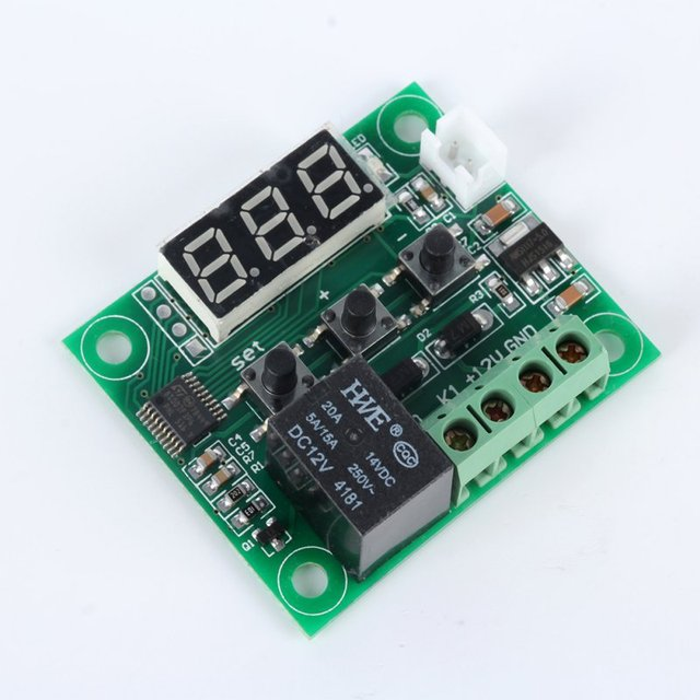 Temperature Control Switch 12V With Sensor 50-110 Celsius Digital Thermostat Hot Sale