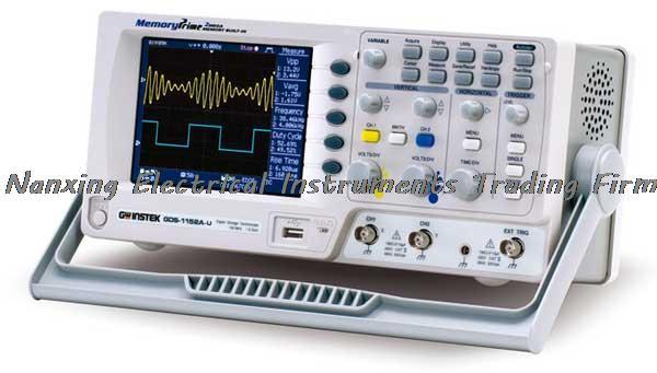 Arrivée rapide TaiWan Gwinstek Oscilloscope numérique GDS-1072-U DSO, 250MSa/s en temps réel, 70 MHz, 2 canaux, 5.7