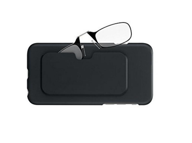 Stick Anywhere, Go Everywhere Women Men Reading Glasses Plus Universal Pod Case,black Frame, Case SOS +1.0 +1.5 +2.0 +2.5 +3.0