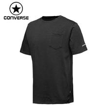 Original New Arrival 2019 Converse Embroidered Wordmark Tee Men's T-shirts shirt short sleeve Sportswear