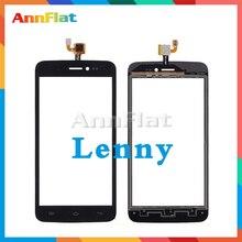 """Yüksek kalite 5.0 """"Wiko Lenny 1 Lenny 2 Lenny 3 için 5.5 Lenny 4 dokunmatik ekran Digitizer ön cam lens sensör paneli"""