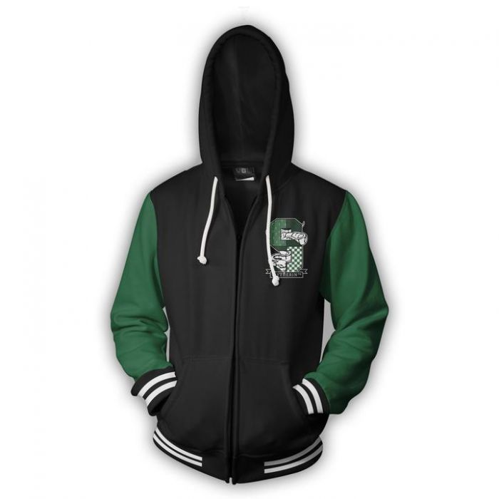 Slytherin Gryffindor Costume Cosplay Movie Hoodie Sweatshirt Jacket Coats Men And Women New