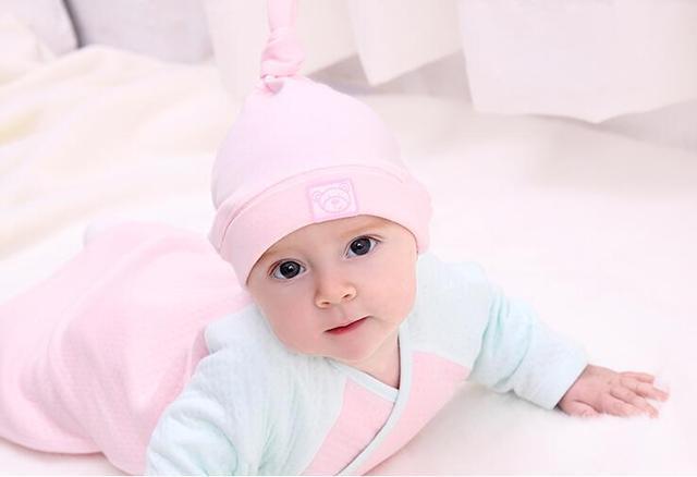 Baby hat spring and autumn 0 - 3 - 6 months old newborn supplies baby 100% cotton  newborn children tire cap 8613f0728d45