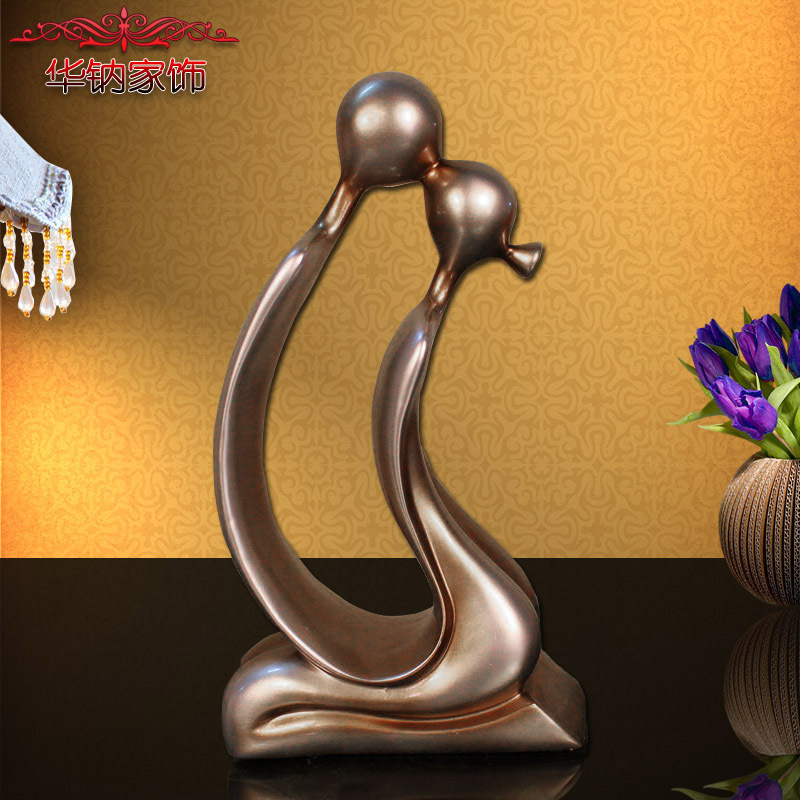 2016 New Arrival Direct Selling Simple Modern Style Resin Crafts Abstract Characters Hotel Ktv Living Room Decoration
