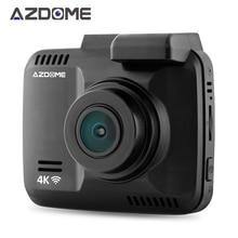 """Azdome GS63H WiFiรถDVRบันทึกประบ2.4 """"n ovatek 96660กล้องสร้างขึ้นในจีพีเอสกล้องวีดีโอ4พัน2880×2160จุดNight Vision G-sensor"""
