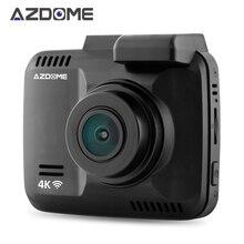 """Azdome GS63H Wi-Fi Видеорегистраторы для автомобилей Регистраторы регистраторы 2.4 """"НОВАТЭК 96660 Камера встроенный GPS видеокамера 4 К 2880X2160 P Ночное видение g-сенсор"""