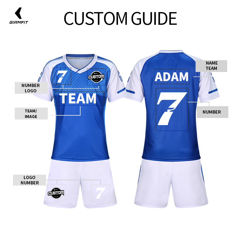 3805823ff Football Jersey Kids Personalized Soccer Jerseys Set Custom Soccer Uniform  Survetement Football Uniform Breathable Sport Clothes-in Soccer Sets from  Sports ...