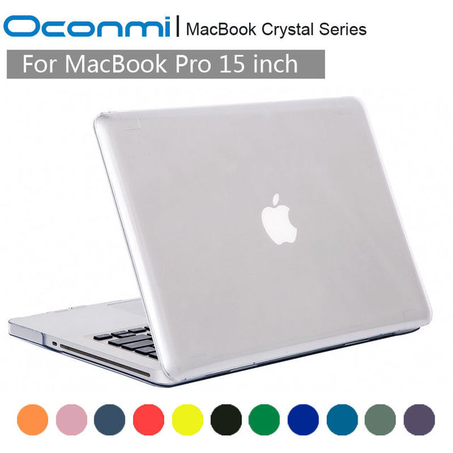 Crystal Transparent Clear Hard Case for Apple Macbook Pro 15 case cover 15.4 inch laptop bag sleeves for Macbook Pro 15 case