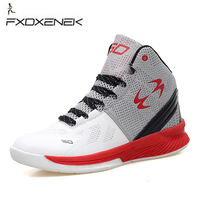 New High Top Basketball Sneakers Men Boys Size 36 45 Authentic Basketball Shoes Leather Black Blue