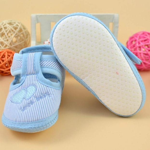 2018 Newborn Girl Boy Soft Sole Crib Toddler Shoes Canvas Sneaker For Baby Shoes 1204
