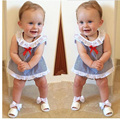 Новая Мода Детская Одежда Набор Девочка Устанавливает Футболка + Шорты Новорожденных Bebe Весна Лето Девочка Одежда