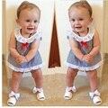 Nueva Moda Ropa de Bebé Niña Establece Tshirt + Short Pants Bebe Recién Nacido Primavera Verano Ropa de Bebé Niña