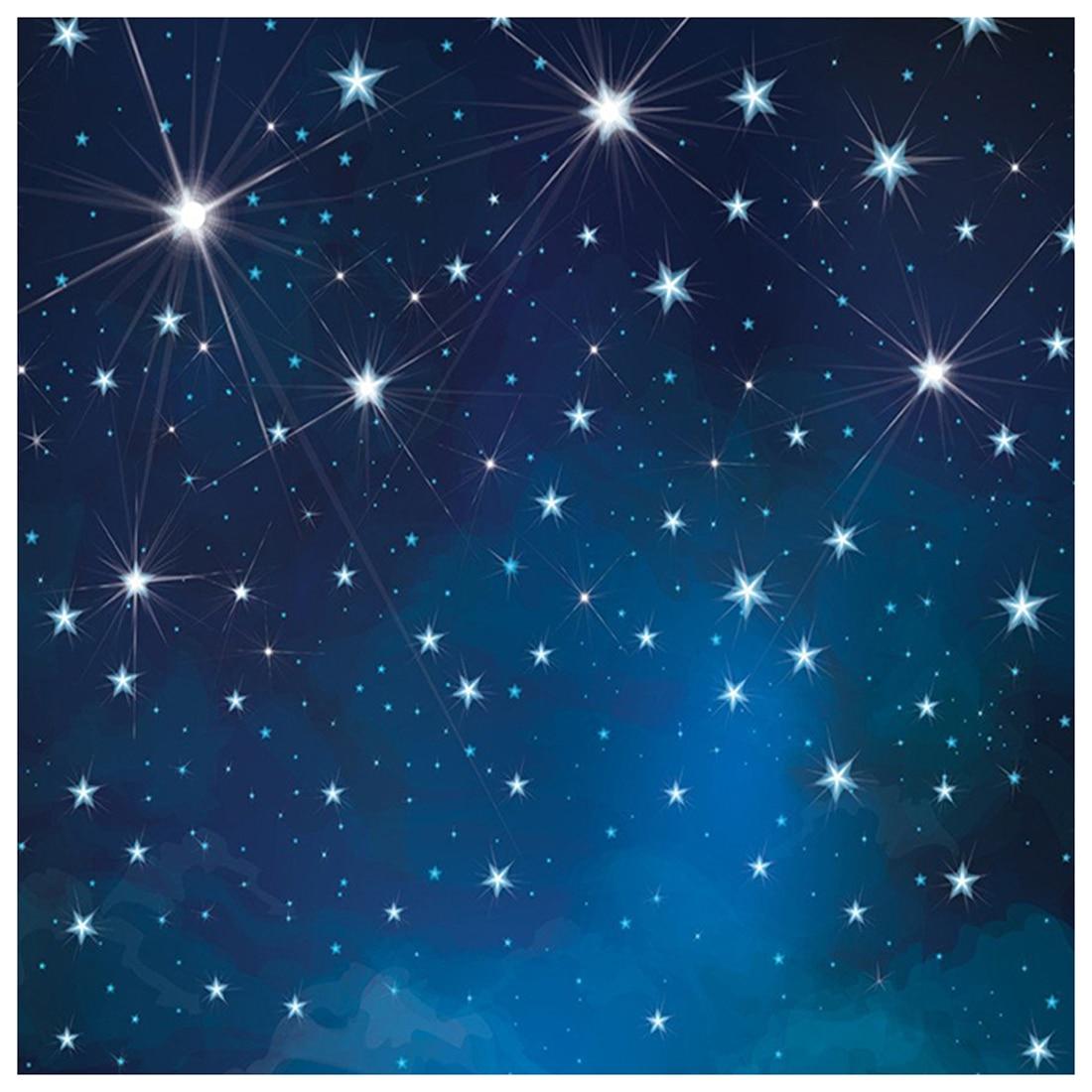 5x7ft Evening Blue Sky Photography Backdrops No Wrinkles Fantasy Stars Background For Children Birthday Photo Studio blue sky чаша северный олень