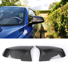 цена на 1 : 1 Replacement Style For Bmw X3 F25 X4 F26 X5 F15 X6 F16 Carbon Fiber Rear Side View Mirror Cover 2014 -