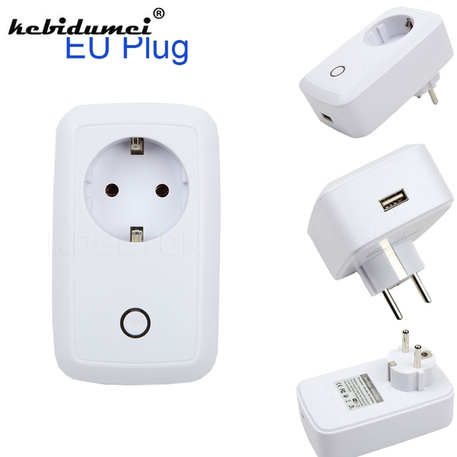 kebidumei 2018 Newest Wifi Plug Power Socket 220V 110V Smart Timer ...