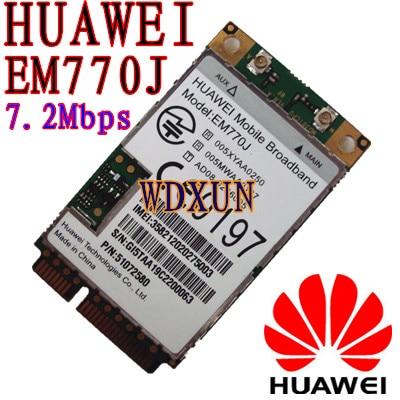 HUAWEI EM770J Κάρτα WWAN Mini PCI-E 3G Μονάδα HSPA WCDMA Δίκτυο 3G Κάρτα Unlocked 3G NET