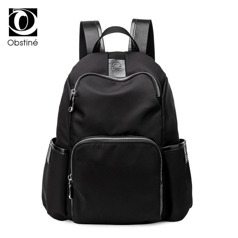 купить fashion oxford women backpack for girls cheap back pack black female backpacks for teenage anti-theft shoulder bag for school по цене 988.68 рублей