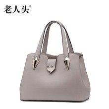 LAORENTOU women bag new genuine leather bag Superior cowhide leather fashion women leather handbags shoulder bag