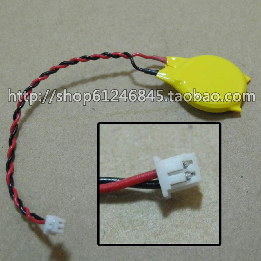 Free shipping For CR2032 laptop motherboard battery Universal CMOS battery 3V BIOS battery with a line плащ bgn плащ