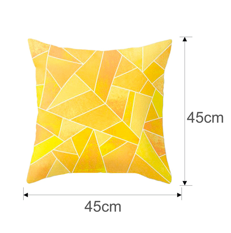 Christmas Pillow Coussin Cartoon Geometric Cushions Case Christmas Home Decorative Cushion For Sofa Xmas DIY Soft hug Pillowcase