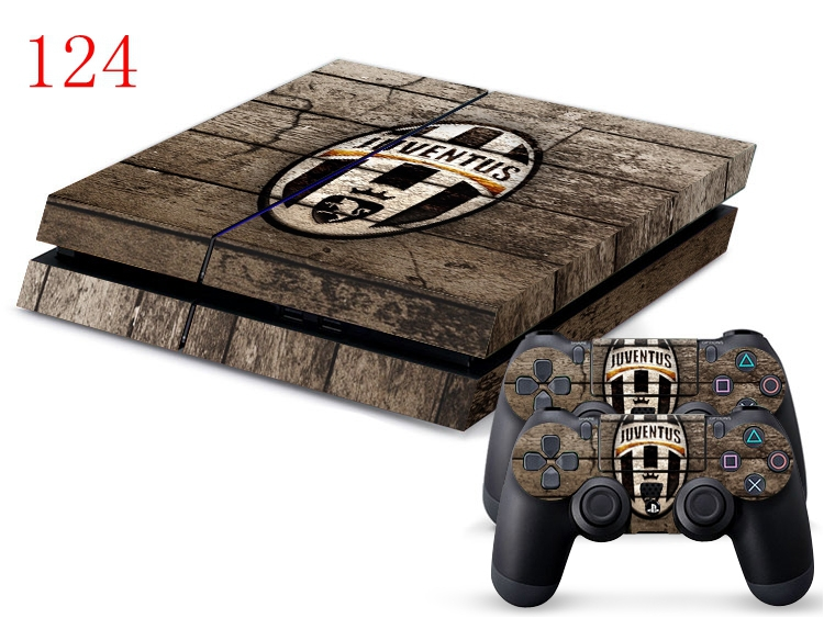 OSTSTICKER JUVENTUS Decal Skin Sticker For PS4 Vinyl Sticker For PS4 Console and Controller