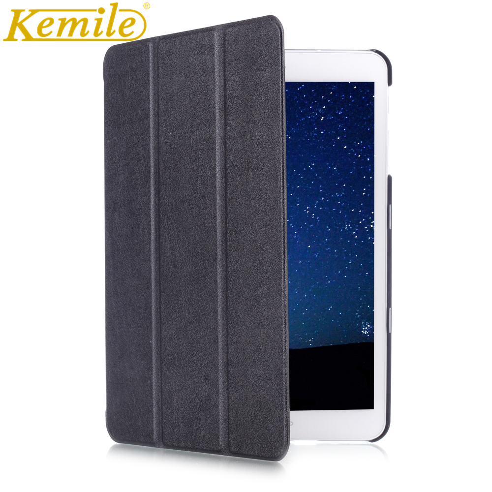 Kemile For Sansung Tab S2 T810 T815 Case 3 Folding Auto sleep Wake Up Leather Cover For Sansung Galaxy Tab S2 T810 T815 9.7 Case