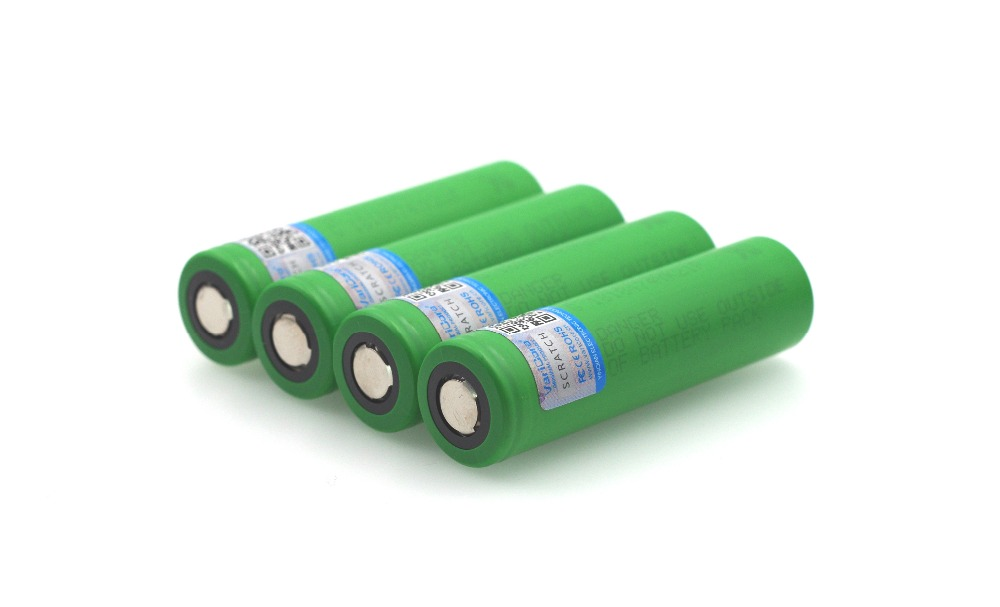 <font><b>4</b></font> <font><b>pcs</b></font>. VariCore new 100% original 3.6 V <font><b>18650</b></font> VTC4 2100 mAh with high current consumption 30A for electronic cigarette <font><b>battery</b></font> image