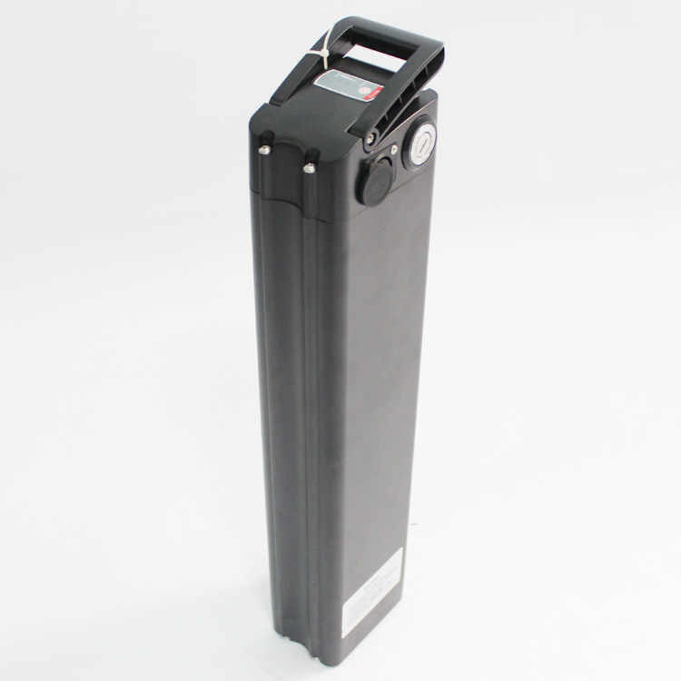 Seat Tube Battery Case WITHOUT  Cell and Charger Black Color Silver Colour for E Bike Electric Bicycle