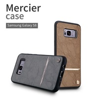 Nillkin Brand Phone Case For Samsung Galaxy S8 Classic Mercier PU Leather PC Hard Back Cover