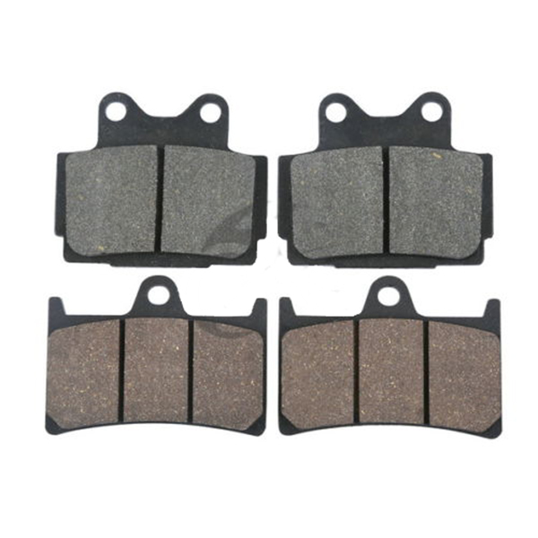 4pcs/set Motorcycle Front Rear Brake Pads For <font><b>YAMAHA</b></font> FZS600 FZS <font><b>600</b></font> <font><b>FAZER</b></font> 1999 - <font><b>2003</b></font> 2000 2001 2002 image