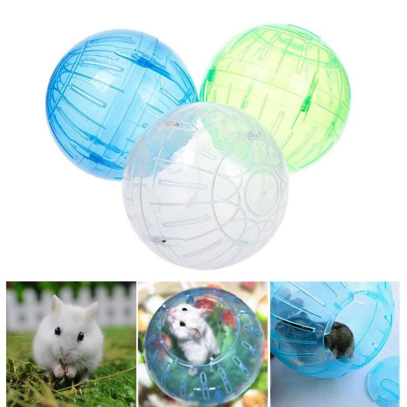 Hot New Cute Plastic font b Pet b font Mice Gerbil Randomly Color Hamster Jogging Playing