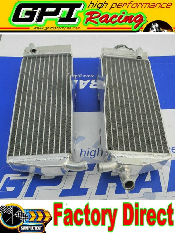 aluminum  Radiator  for HONDA CR250 CR 250 CR250R CR 250R 90-91 1990 1991