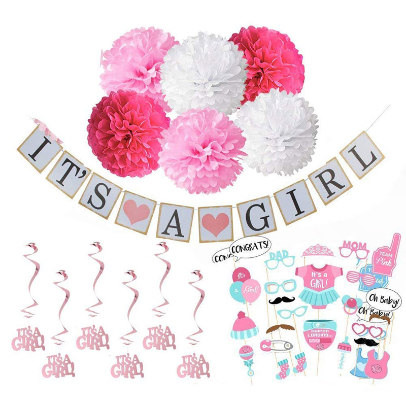 Welcome Baby Girl Theme