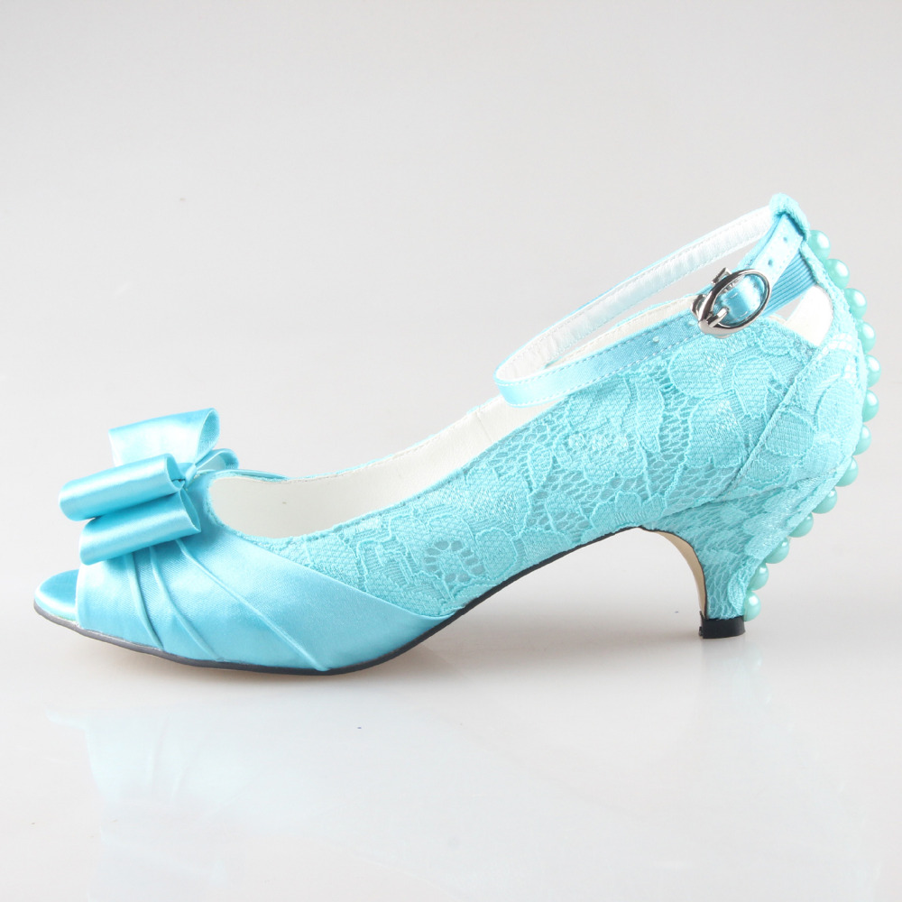 Turquoise Wedding Heels: Aliexpress.com : Buy Creativesugar Handmade Turquoise Lace
