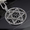 Thomas Black Ornament Arabesque PendanTS-Necklace, European Glamour Jewelry Soul Gift for Women TS-N94