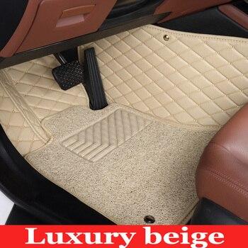Custom fit car floor mats for Volkswagen Beetle CC Golf Jetta Passat Tiguan Touareg sharan 5D car-styling carpet floor liner