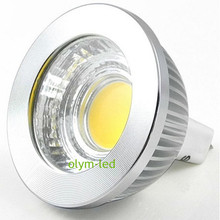10Pcs Hot Sale 12V COB LED MR16 Dimmable 5W 7W Warm White Spotlight MR 16 Lamp Energy Saving Home Bulbs