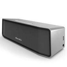 Bluedio BS-2 (Camello) Sistema de Sonido del altavoz Inalámbrico Portátil Mini altavoz Bluetooth Música estéreo 3D surround (plata)