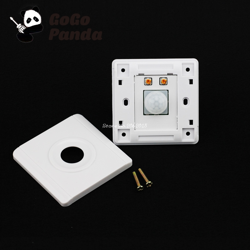 Motion Sensor Switch For Garage Lights: IR Switch Infrared LED Body IN And Out Motion Sensor