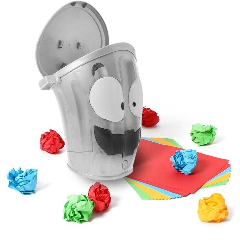 Mülleimer Bord Spiel Werfen Müll Familie Party Erwachsenen Kind Spaß ...