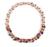 Julie multicolor gota de água zircônia pingentes colares declaração mulheres colar banhado a ouro de moda de luxo jóias jj10004