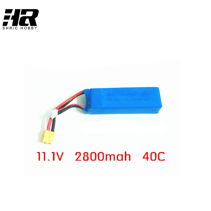 11.1V 2800 mah 40C Lipo battery suitable for wltoys V303 CX20 Large four axis aerial vehicle  Free shipping f09166 10 10pcs cx 20 007 receiver board for cheerson cx 20 cx20 rc quadcopter parts