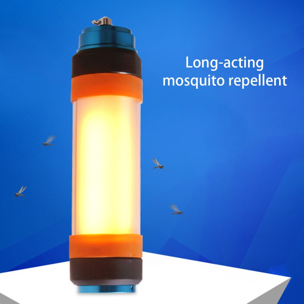 Multifunctional USB Portable Hiking Emergency Light Waterproof Outdoor Travel Torch Camping Lantern For Displacing Mosquitoes