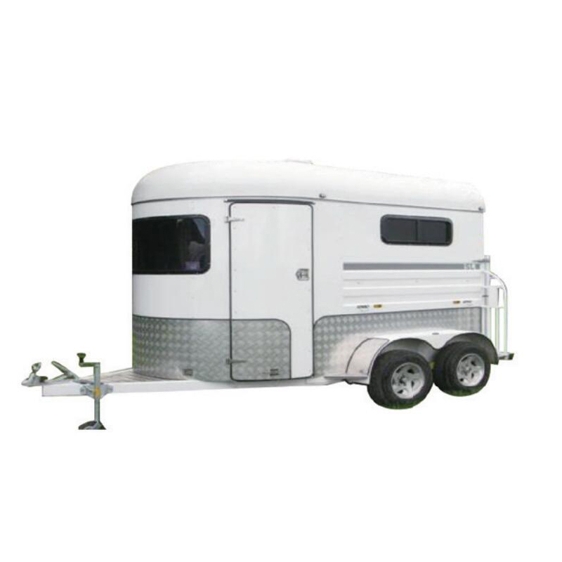 Factory Price Hot Sale 2 Horse Straight Load Standard Horse Trailer Horse Float For Sale