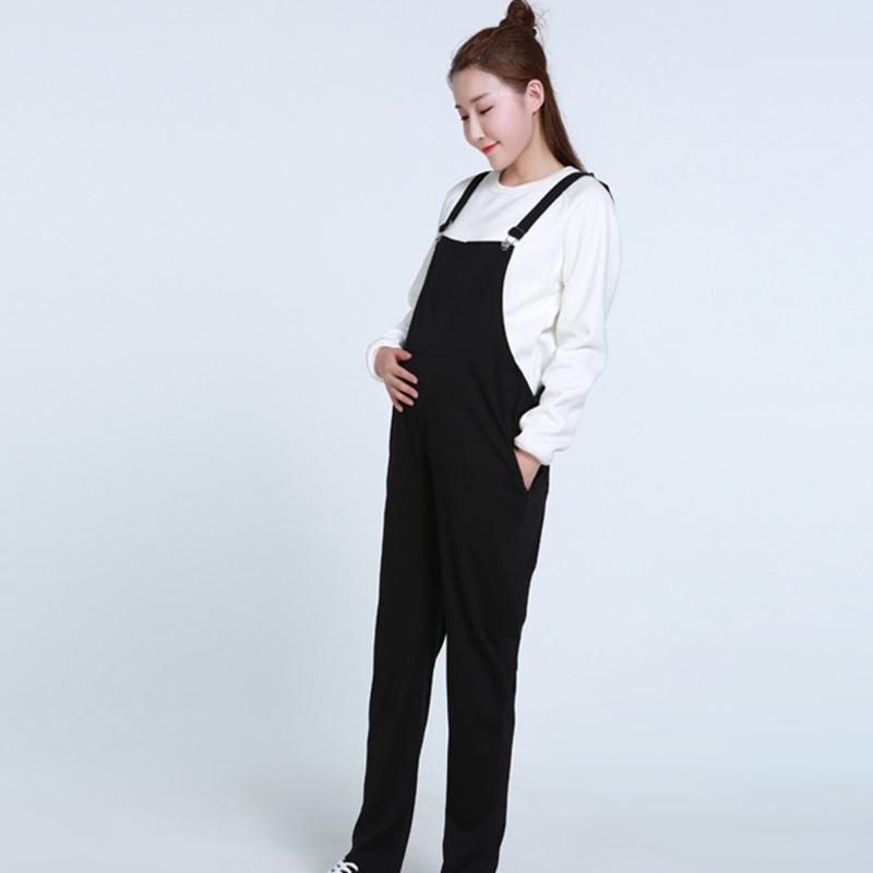 Maternity Clothing Pants 2017 Autumn Fashion Pregnancy Women Slim Overalls Long Pants Pregnant Women Suspender Trousers Clothes