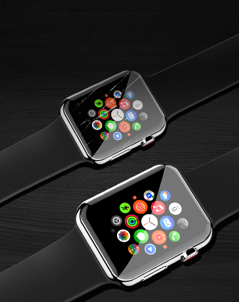 Watch case cover For Apple Watch 5 4 3 2 1 Bands case 42mm 38mm Screen Protector 40mm 44mm for iWatch 4 Series 5 1/2/3/4
